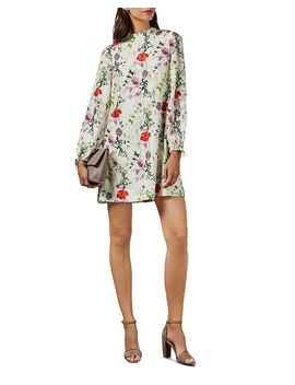 Imane Floral Print Tunic Dress by Ted Baker