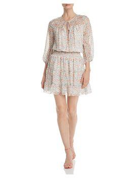 Floraison Bonne Silk Dress by Shoshanna
