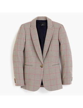 Parke Blazer In Rose Plaid by J.Crew