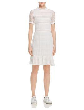 Rochana Lace Sleeve Dress by Velvet By Graham & Spencer