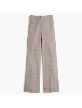 Frankie Pant In Rose Plaid by J.Crew