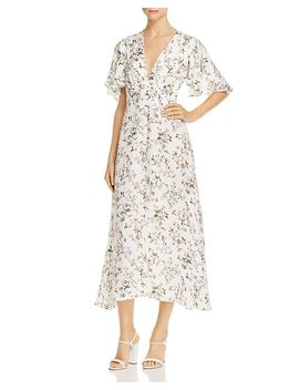 Floral Midi Dress by Divine Heritage