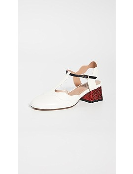 Block Heel Pumps by Marni