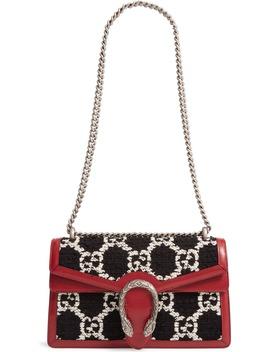 Small Dionysus Gg Tweed Shoulder Bag by Gucci