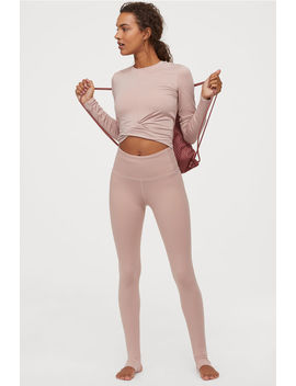 Yoga Tights High Waist by H&M