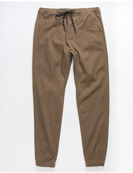 Charles And A Half Dirt Mens Twill Jogger Pants by Charles And A Half