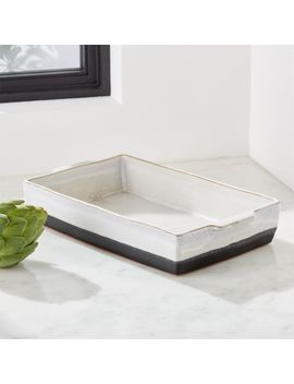 Jaymes Glazed Baking Dish by Crate&Barrel