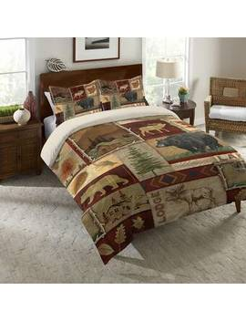 Rumi Lodge Collage Comforter by Millwood Pines