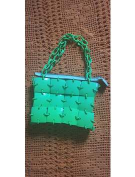 70's Meyers Green Bag by Etsy
