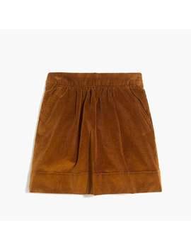Girls' Corduroy Skirt by J.Crew