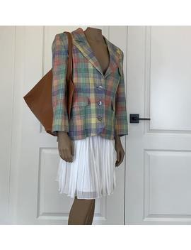 Vintage 80s Valentino Blazer Jacket, Fun, Retro, Made In Italy, Valentino Boutique by Etsy