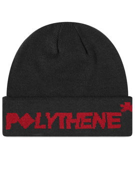 Polythene Optics Logo Beanie by Polythene Optics