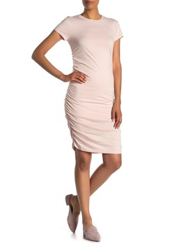 Ruched Side T Shirt Dress by Kenneth Cole New York
