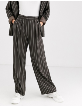 Asos Design   Mensy   Pantalon De Costume à Fines Rayures by Asos Design