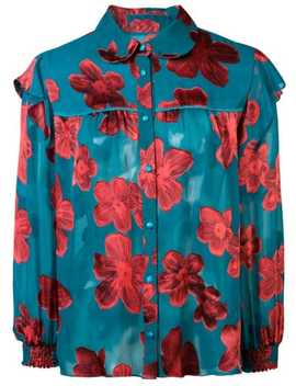 Ziggy Floral Print Blouse by Alice+Olivia