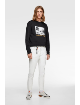 Photographic Print Sweatshirt  Prints Sweatshirts Man by Zara