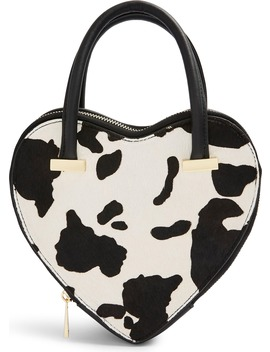 Cow Heart Grab Bag by Topshop
