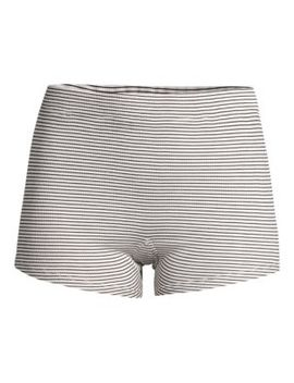 Poppy Striped Sleep Shorts by Maison Du Soir