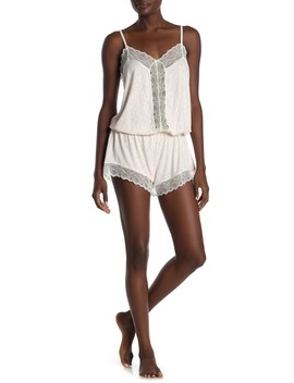 Sweet Heart Dreamer Pajama Romper by Eberjey