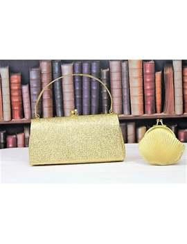 Vintage Gold Evening Bag/Vintage Gold Lurex Evening Purse/1960's Gold Evening Bag (Ref2012 G) by Etsy