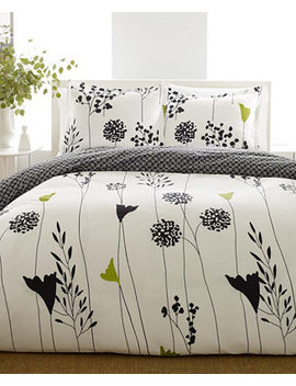 Asian Lily Twin Duvet Cover Set by General