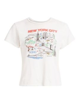 New York City Graphic Tee by Re/Done