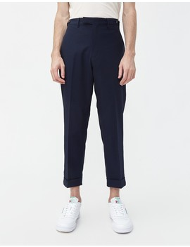 Seersucker Cotton Polyester 9/10 Trouser by Beams Plus