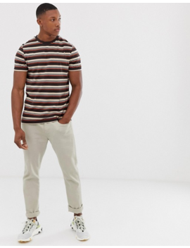 Asos Design Organic Cotton Oversized T Shirt In Stripe by Asos Design