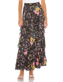 Forever Flirt Skirt In Black by Free People