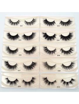 Visofree Eyelashes 3 D Mink Lashes Natural Handmade Volume Soft Lashes Long Eyelash Extension Real Mink Eyelash For Makeup E01 by Ali Express.Com