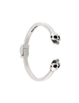 Skull Bangle by Nialaya Jewelry