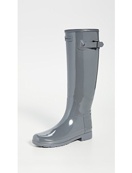 Refined Tall Gloss Boots by Hunter Boots