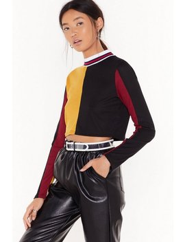 Let's Work Out Ribbed Crop Top by Nasty Gal