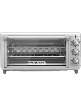 8 Slice Air Fryer Toaster Oven   Stainless Steel by Black & Decker