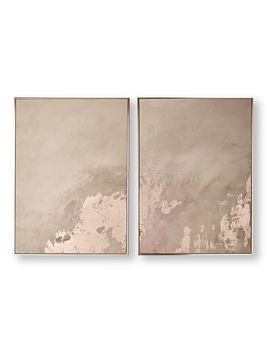 Rose Gold Serenity Framed Wall Art by Graham & Brown