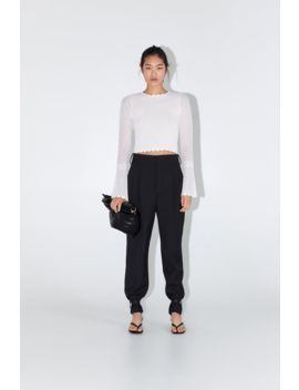 Bell Sleeve Top View All Knitwear Woman by Zara