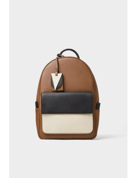 Three Tone Backpack Bags Man Shoes & Bags by Zara