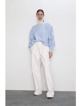 Flounce Sweater Join Lifewoman Cornershops by Zara