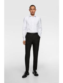 Premium Textured Shirt View All Shirts Man by Zara