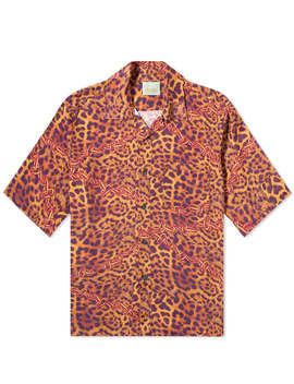 Aries Leopard Chains Hawaiian Shirt by Aries