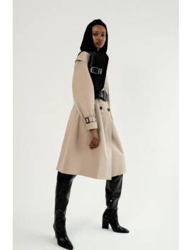 Belted Double Breasted Trench Coat Coatswoman by Zara