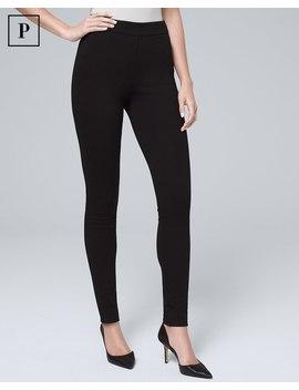Petite Body Comfort Ponte Pants by Whbm