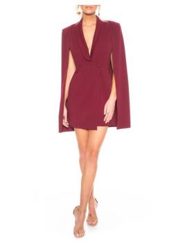 Boss Lady Mini Cape Dress by Katie May