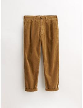 Rugged Cord Pleated Pant by Alex Mill