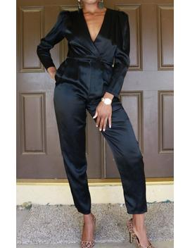 Black Beauty Vintage Jumpsuit by Etsy