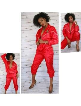 Crossroads Vintage Windbreaker Suit by Etsy