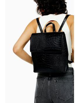 Blaze Black Backpack by Topshop