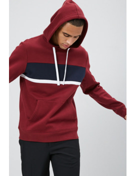 Sudadera Color Block Con Capucha by Forever 21