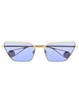 Angular Cat Eye Sunglasses by Gucci Eyewear
