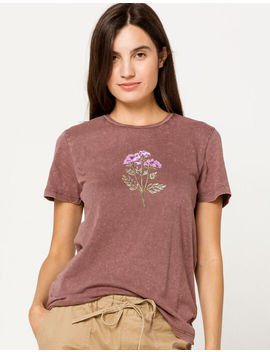 Full Tilt Flower Boyfriend Womens Tee by Full Tilt